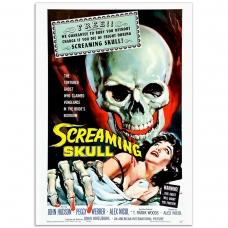 Movie Poster - The Screaming Skull (1958)