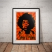 People Poster - Psychedelic Jimi Hendrix