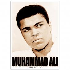 People Poster - Muhammad-Ali, Portrait