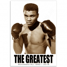 People Poster - Muhammad-Ali, THE GREATEST