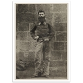 Ned Kelly in Chains, Melbourne