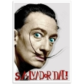 Pop Art Poster - Salvador Dali's Moustache