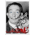 People Poster - Salvador Dali with Babou, at St Regis Hotel NYC