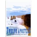 Australian Photographic Poster - 12 Apostles, Victoria