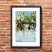 Australian Photographic Poster - Burleigh Heads, Pandanus