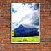 Photographic Poster - Farm Shed Sign