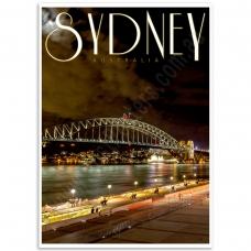 Australian Poster -  Sydney Harbour Bridge