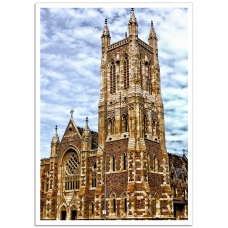 Australian Photographic Poster - St Francis Xavier Cathedral, Adelaide