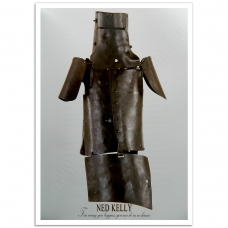 Australian Photographic Poster - Ned Kelly's Armour