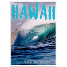 Photographic Poster - Hawaii Banzai Pipeline