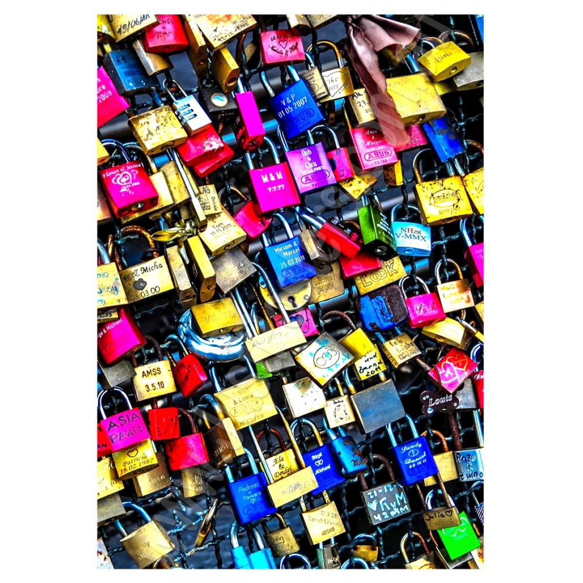 Abstract Art - Love Locks