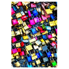Abstract Art - Love Locks