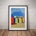 Melbourne Poster - Brighton Beach Huts