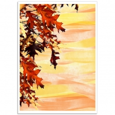 Photographic Poster - Autumn Leaves