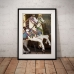 Photographic Poster - 2 Carousel Horses