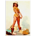 Pinup Girl Poster - New Outfit