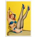 Pinup Girl Poster - First Mate