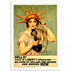 WW1 Poster - Liberty Calling