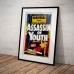 Vintage Propaganda Poster - Marihuana Assassin of Youth