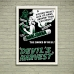 Vintage Propaganda Poster - Marijuana Devils Harvest