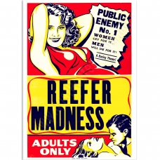 Vintage Propaganda Poster - Reefer Madness