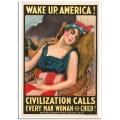 WW1 Poster - Wake up America