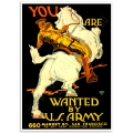 WW1 Recruitment Poster - Wanted by the US Army