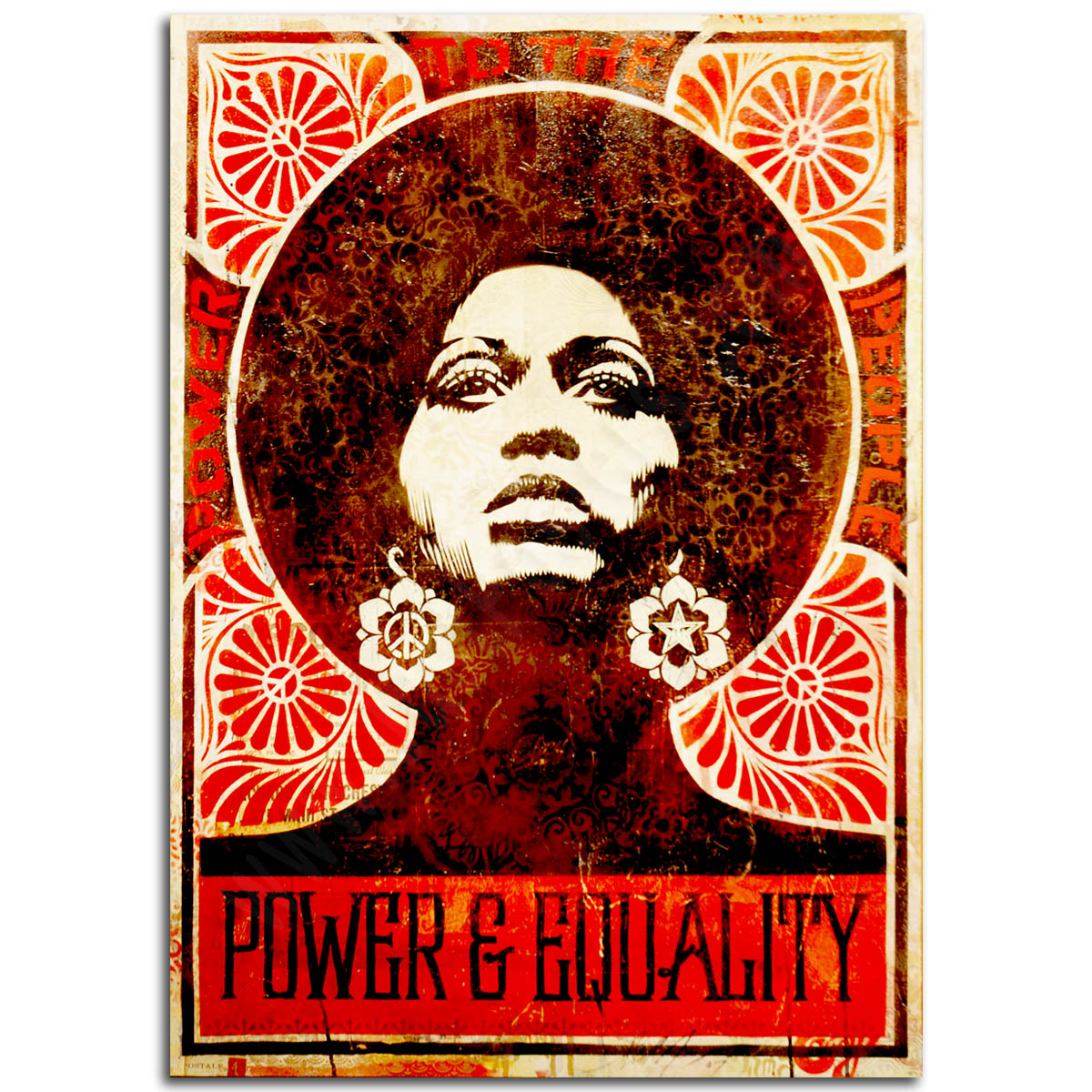 Activist Poster - Power and Equality