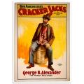 Vintage Theatrical Poster - Bob Manchester's Cracker Jacks - The Tramp Balladist
