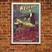 Vintage Theatrical Poster - Kellar Levitation