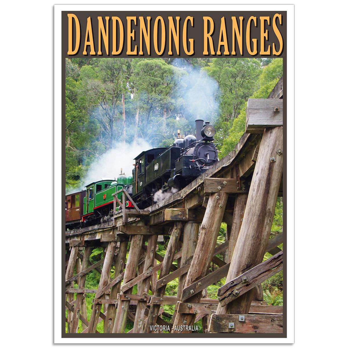 Australian Photographic Poster - Dandenong Ranges - Victoria