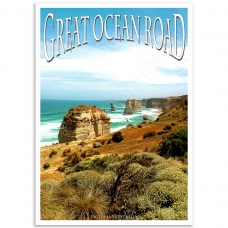 Australian Photographic Poster - Great Ocean Road