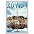 Istrian Travel Poster - Basilica of St. Euphemia