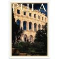 Istrian Travel Poster - La Rena de Pola, Istria