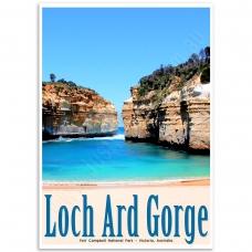 Australian Poster - Loch Ard Gorge, Victoria