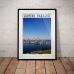 Queensland Poster - Surfers Paradise from Southport