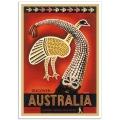 Vintage Travel Poster - Discover Australia (ANTA)