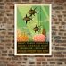 Vintage Travel Poster - World's Wonderland - Great Barrier Reef