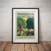 Vintage Travel Poster - Tasmania for the Angler