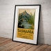 Vintage Travel Poster - Tasmania, The Switzerland of the South
