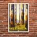 Vintage Travel Poster - Marysville Tallest Trees