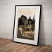 Vintage Travel Poster - Aachen Cathedral