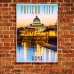 Photographic Poster - Vatican City Sunset