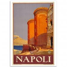 Vintage Travel Poster - Napoli
