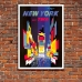 Vintage Travel Poster - TWA - New York - Times Square