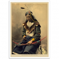 People Poster - Chief Bone Necklace