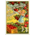 Vintage Australian Promotional Poster - Australian Apples