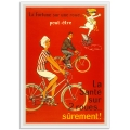 Vintage French Promotional Poster - La Fortune