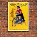 Vintage Motorcycle Promotional Poster - Vicky-IV Motorcycle