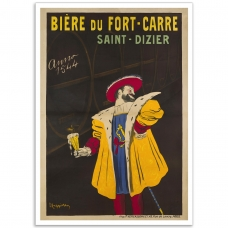 Biere du Fort-Carre, St-Dizier - Vintage French Promotional Poster